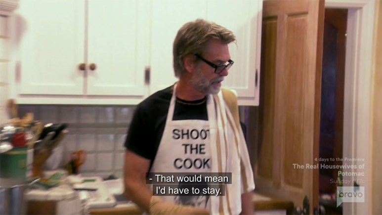 Harry Hamlin on Real Housewives of Beverly Hills