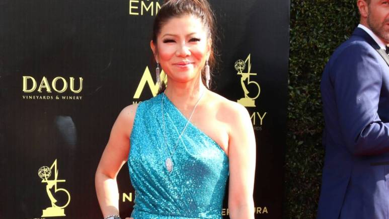 Julie Chen on the red carpet