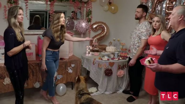 90 Day Fiance:Happily Ever After, Elizabeth's sister throws cake in Andrei Castravet's face during latest altercation