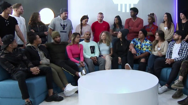 the challenge season 36 cast meets for deliberation before secret voting