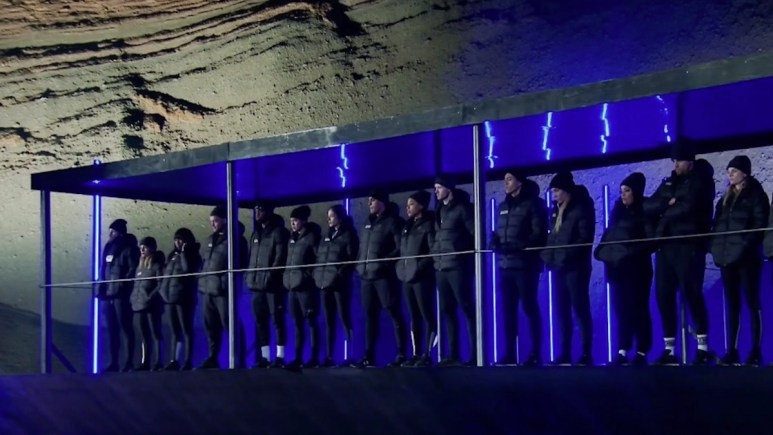 the challenge competitors at double agents elimination site
