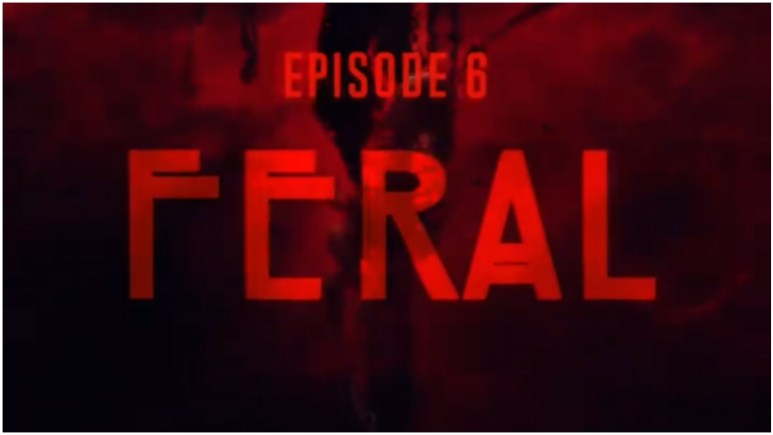 Episode 6 of FX's American Horror Stories is titled 'Feral'