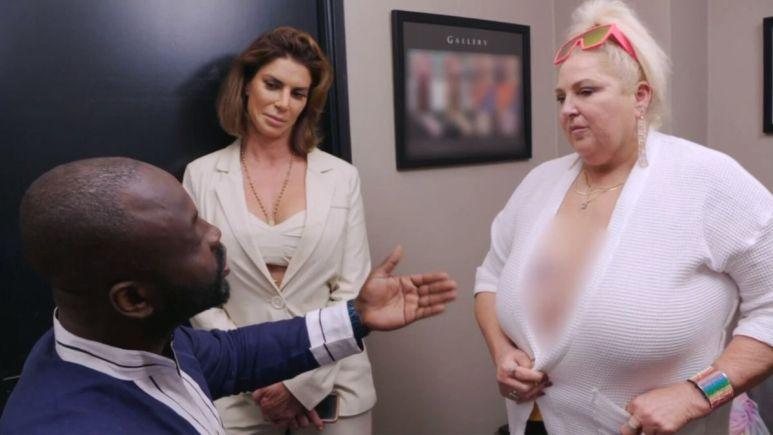 Angela and Dr. Obeng