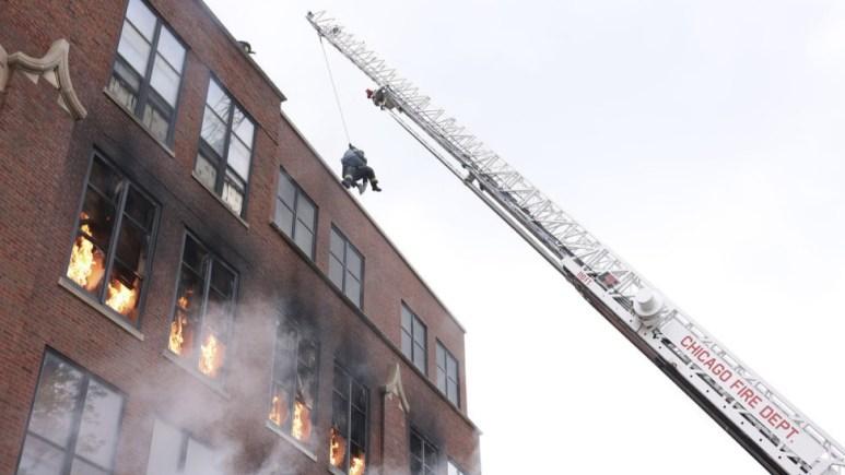 Chicago Fire Premiere Fire