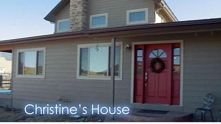 christine brown's flagstaff home