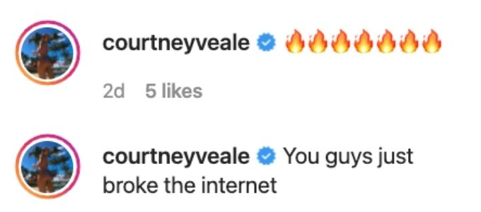 Courtney approves of Malia and Jake