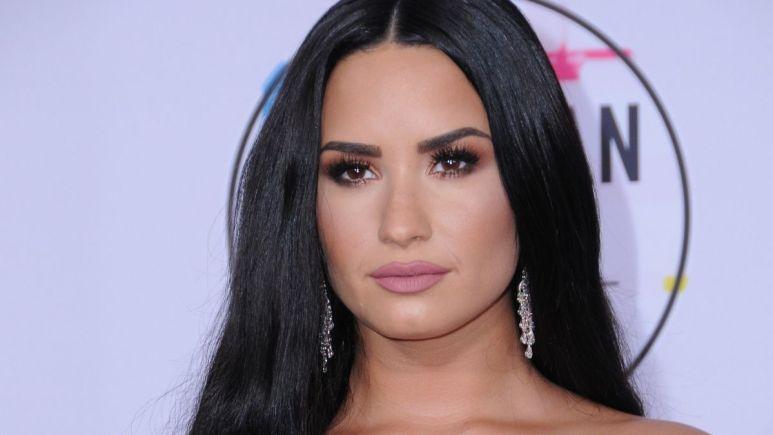 Red carpet image of Demi Lovato