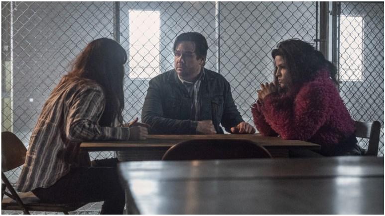 Eleanor Matsuura as Yumiko, Josh McDermitt as Eugene, and Paola Lazaro as Juanite 'Princess' Sanchez, as seen in Episode 3 of AMC's The Walking Dead Season 11
