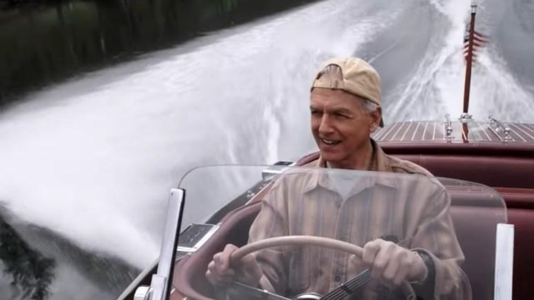 Gibbs Driving New Boat