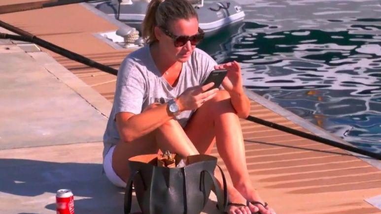 Hannah Ferrier shades Captain Sandy Yawn and Below Deck Mediterranean Season 6 crew over anxiety talk.