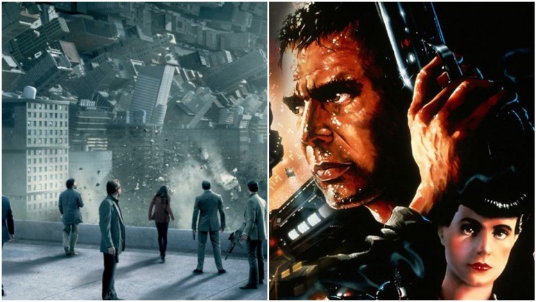 Inception and Blade Runner are sci-fi movies on Netflix