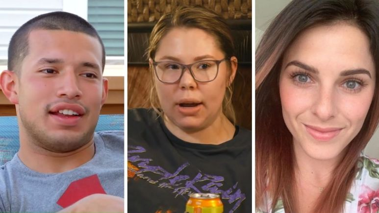 Kail Lowry of Teen Mom 2 and Javi Marroquin and Lauren Comeau