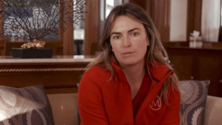 Katie Flood reacts to Below Deck charter guest dissing the interior crew.