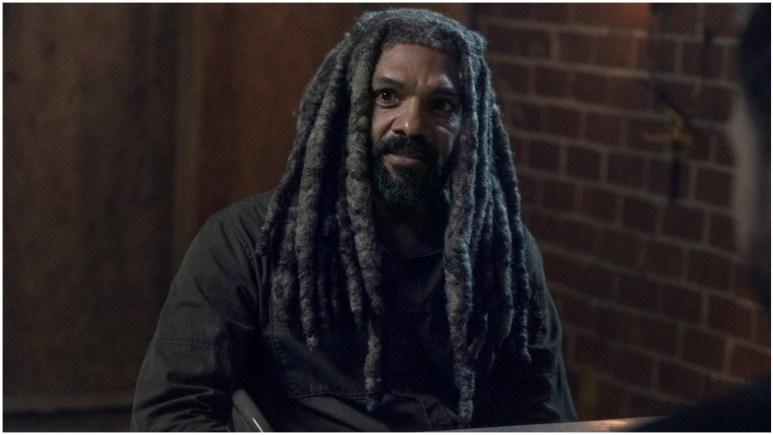 Khary Payton stars as Ezekiel, as seen in Season 11 of AMC's The Walking Dead