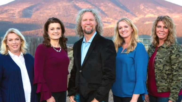 kody brown and his wives of sister wives on tlc