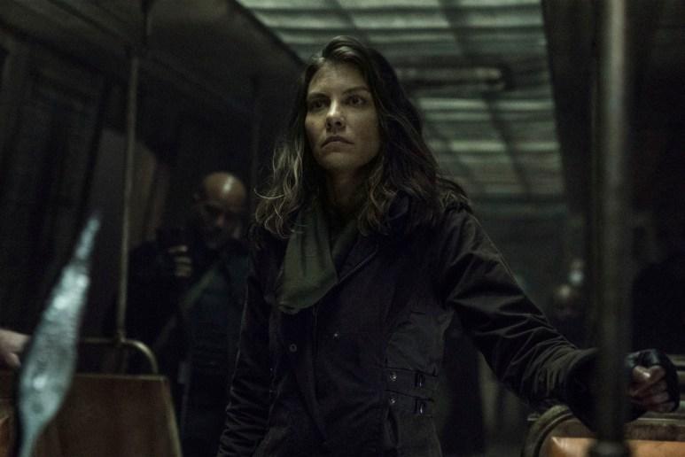 Lauren Cohan stars as Maggie, as seen in Season 11 of AMC's The Walking Dead