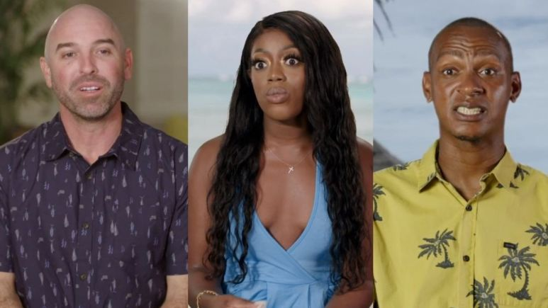 Mark, Martine, and Sherlon of love in paradise: the Caribbean, a 90 day story recap