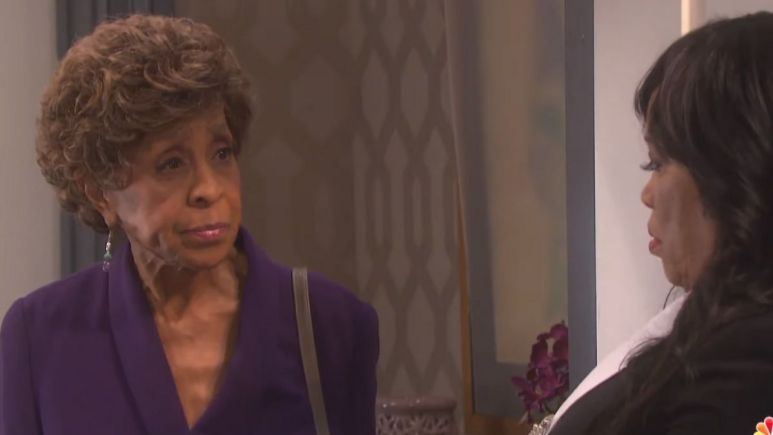 See Marla Gibbs first scenes as Olivia Price on Days of our Lives.