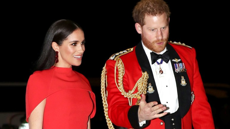 Duke and Duchess of Sussex attending a royal event in England