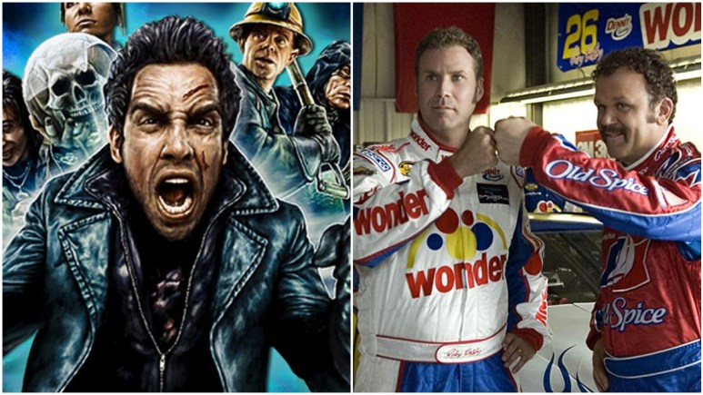 Mystery Men and Talladega Nights are comedies on Netflix