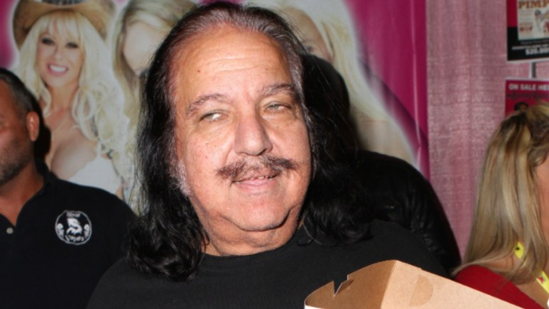 Ron Jeremy at a movie event