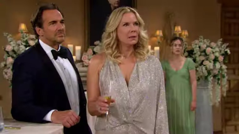 Ridge and Brooke on The Bold and the Beautiful.