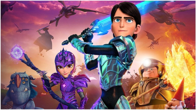 Trollhunters Rise of the Titans on Netflix