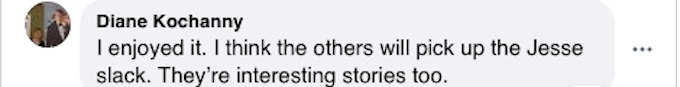 A fan on Facebook says Chesapeake Shores will be fine without Jesse Metcalfe.