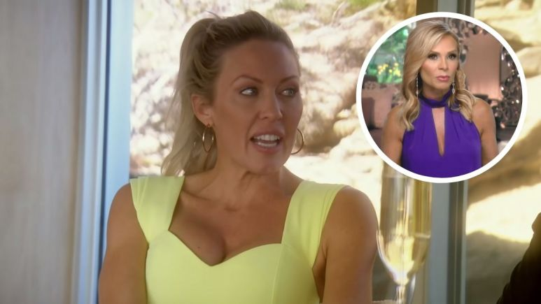 Real Housewives of Orange County star Braunwyn Windham-Burke sued for kissing Tamra Judge
