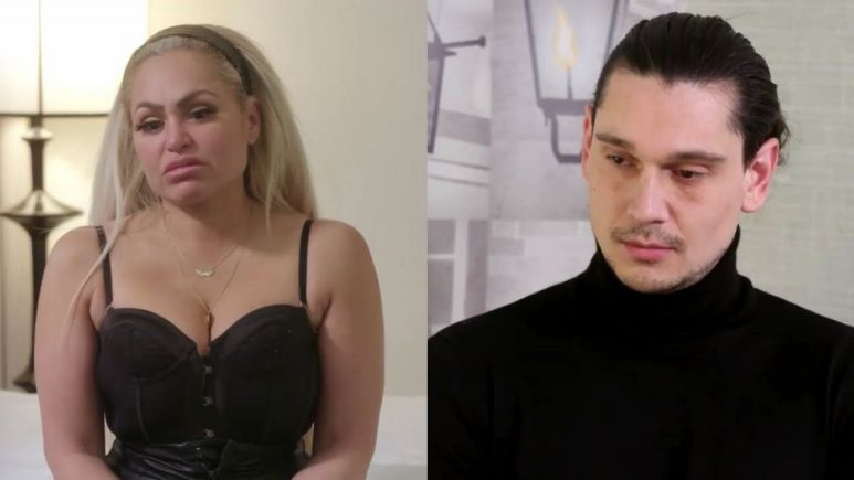 Darcey Silva and Georgi Rusev have tense conversation after recent blowout