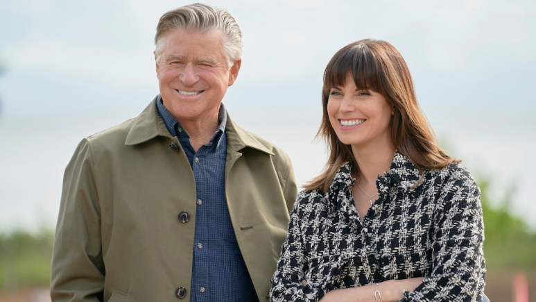 Treat Williams and Meghan Ory on the Hallmark series Chesapeake Shores.