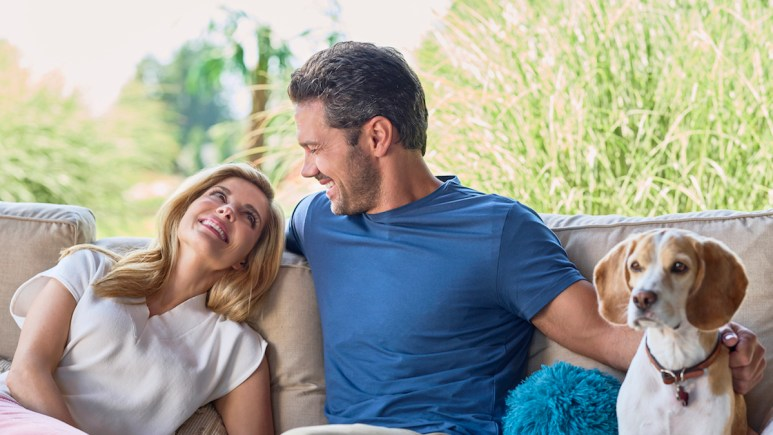 Jen Lilley and Ryan Paevey star in Hallmark Channel's A Little Daytime Drama