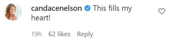 Comment from Reese Witherspoon's IG post.