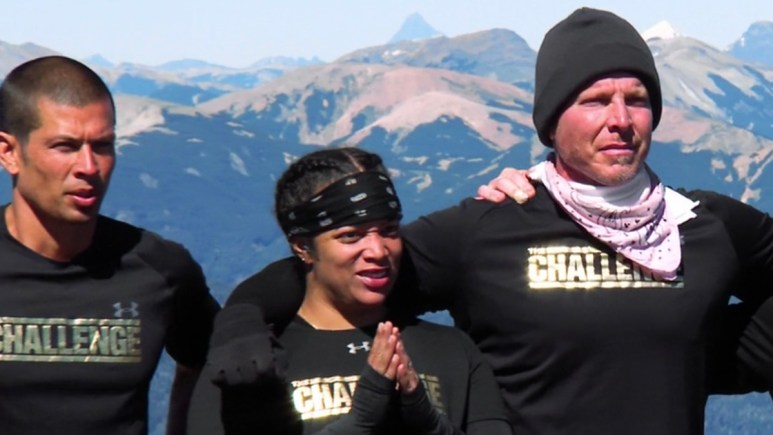 the challenge all stars yes duffy aneesa ferreira and mark long