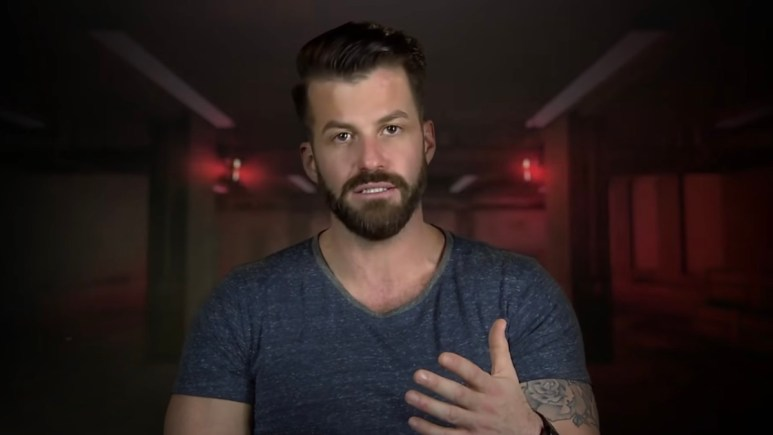 johnny bananas during the challenge total madness confessional
