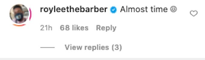 leroy garrett comments on jenna compono baby update