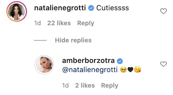 natalie negrotti instagram comment amber borzotra
