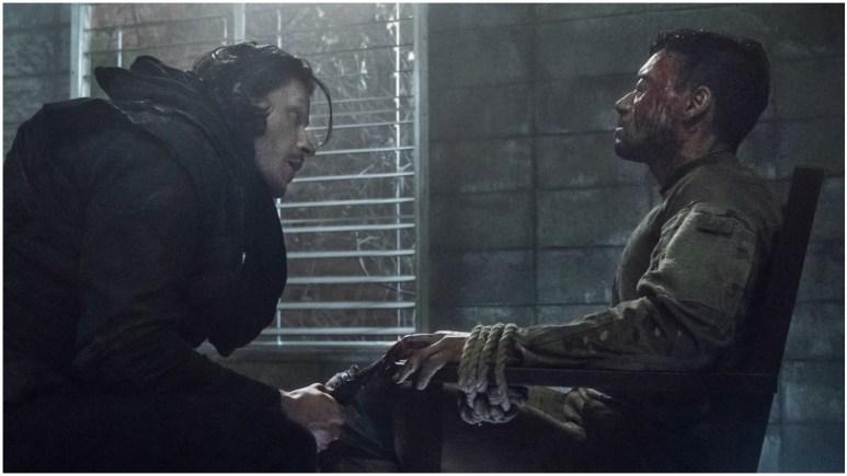 Alex Meraz as Carver and Glenn Stanton as Frost, as seen in Episode 6 of AMC's The Walking Dead Season 11