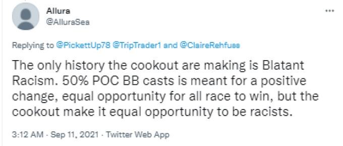 Allura BB23 Racist