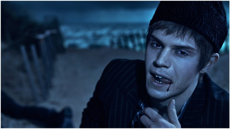Evan Peters stars as Austin Somers in FX's American Horror Story: Double Feature