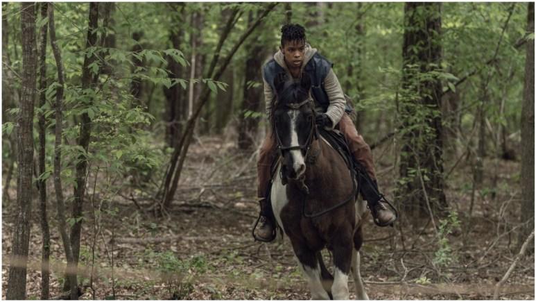 Angel Theory stars as Kelly, as seen in Episode 6 of AMC's The Walking Dead Season 11