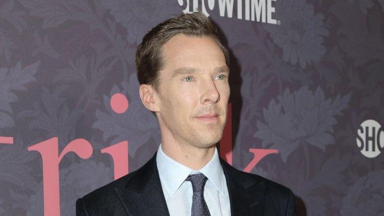 Red carpet image of Benedict Cumberbatch