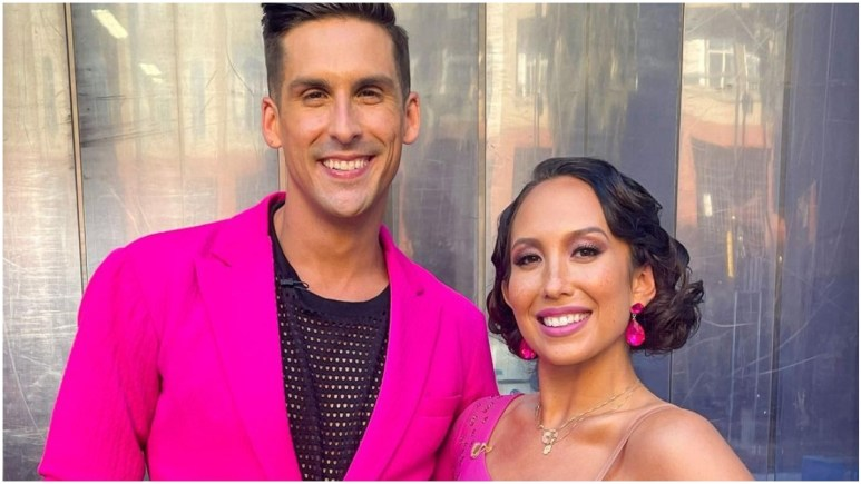 Cody Rigsby and Cheryl Burke on DWTS