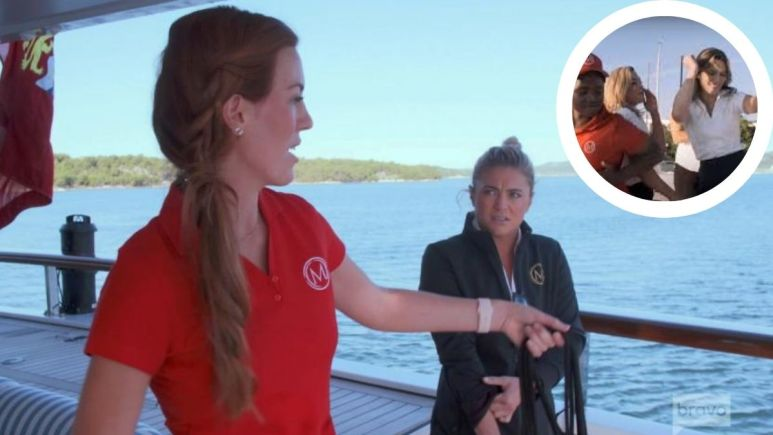 How does Delaney Evans feel abouut the Below Deck Mediterranean Season 6