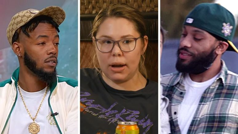 Devoin Austin, Kail Lowry and Chris Lopez of Teen Mom 2