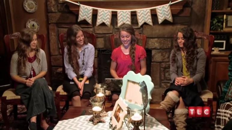 The older Duggar daughters celebrating Jill.