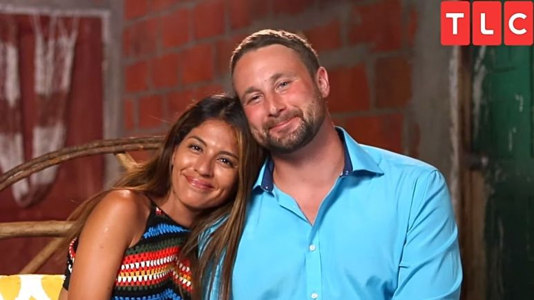 Evelin Villegas and Corey Rathgeber from 90 Day Fiance The Other Way