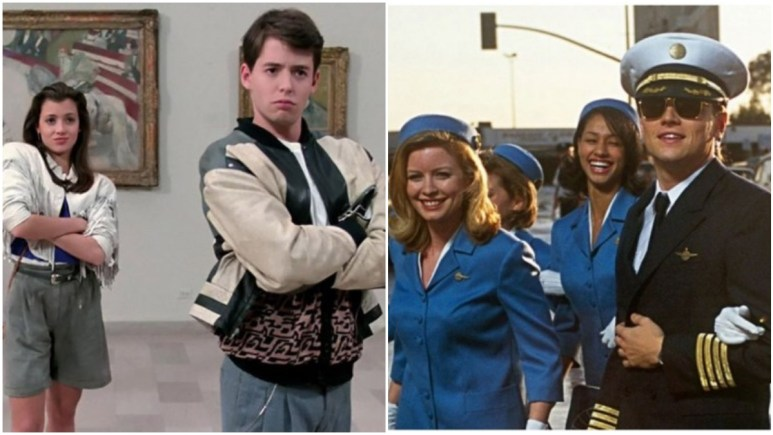 Ferris Bueller and Catch Me if You Can on Netflix