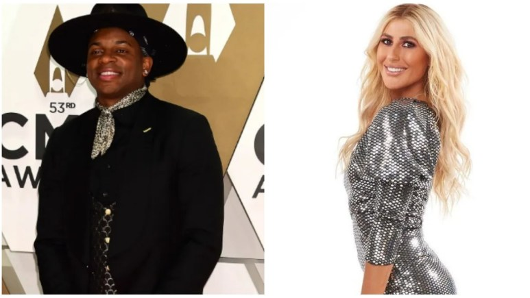 Jimmie Allen and Emma Slater on DWTS