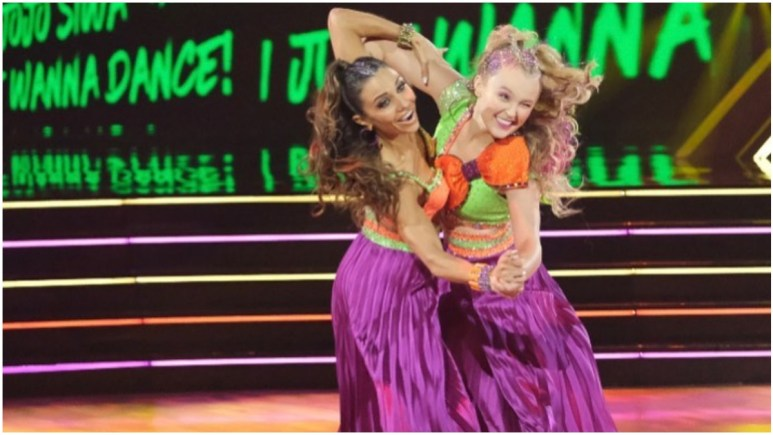 JoJo Siwa on Dancing With the Stars